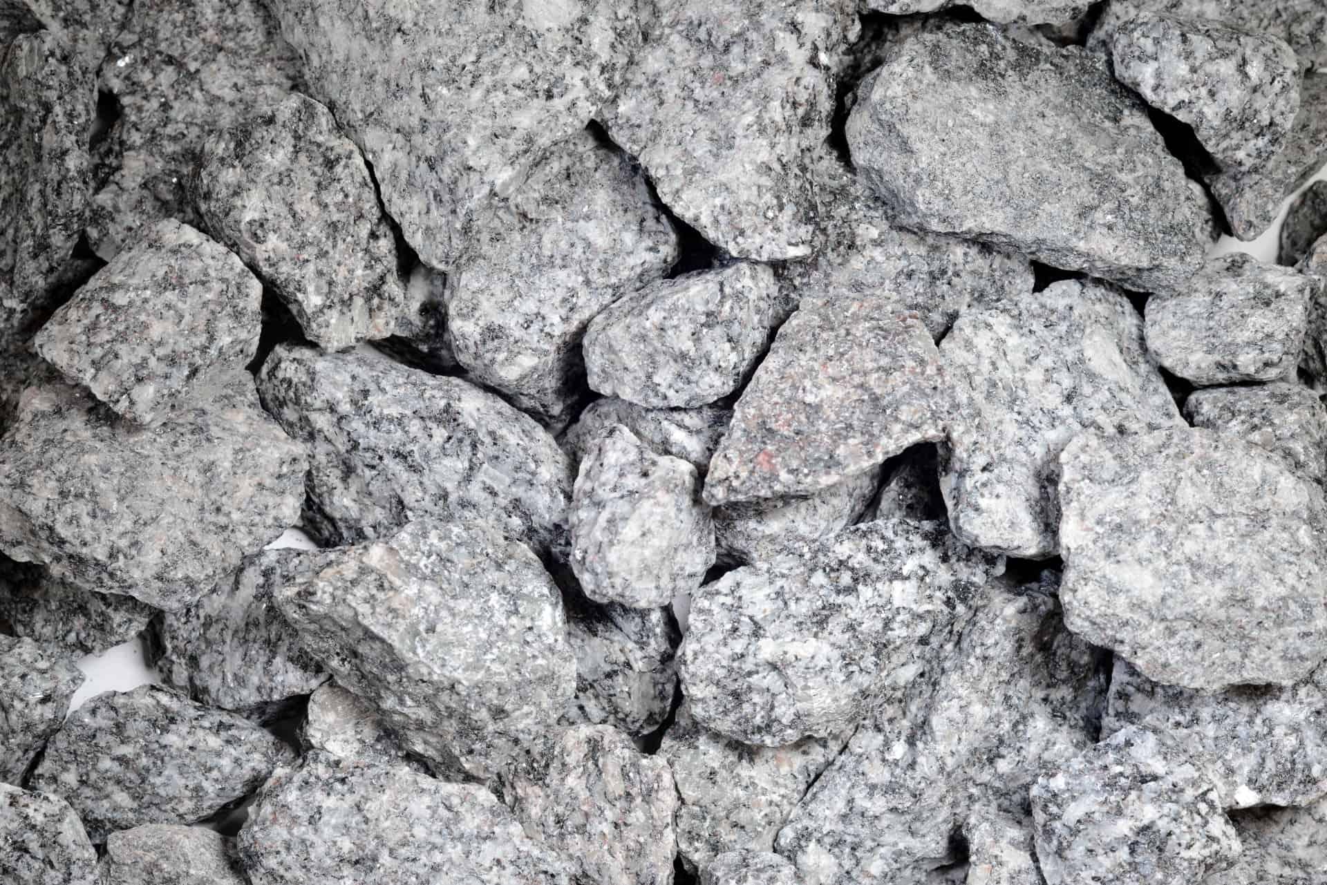 Granit grau 32-56mm - Sack vor Orth - Heidelberg