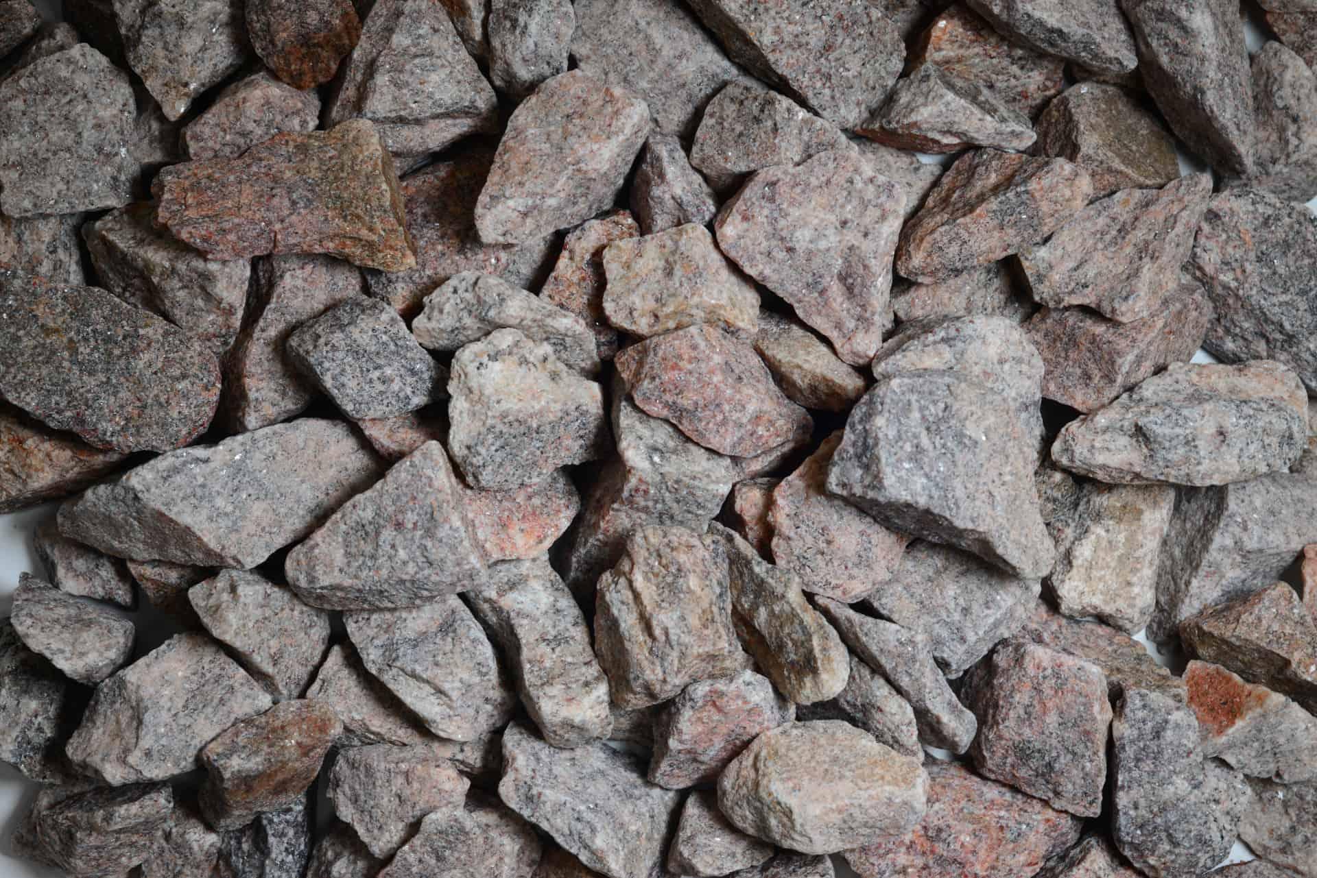 Granitschotter rötlich 16-32mm - Sack vor Orth - Heidelberg