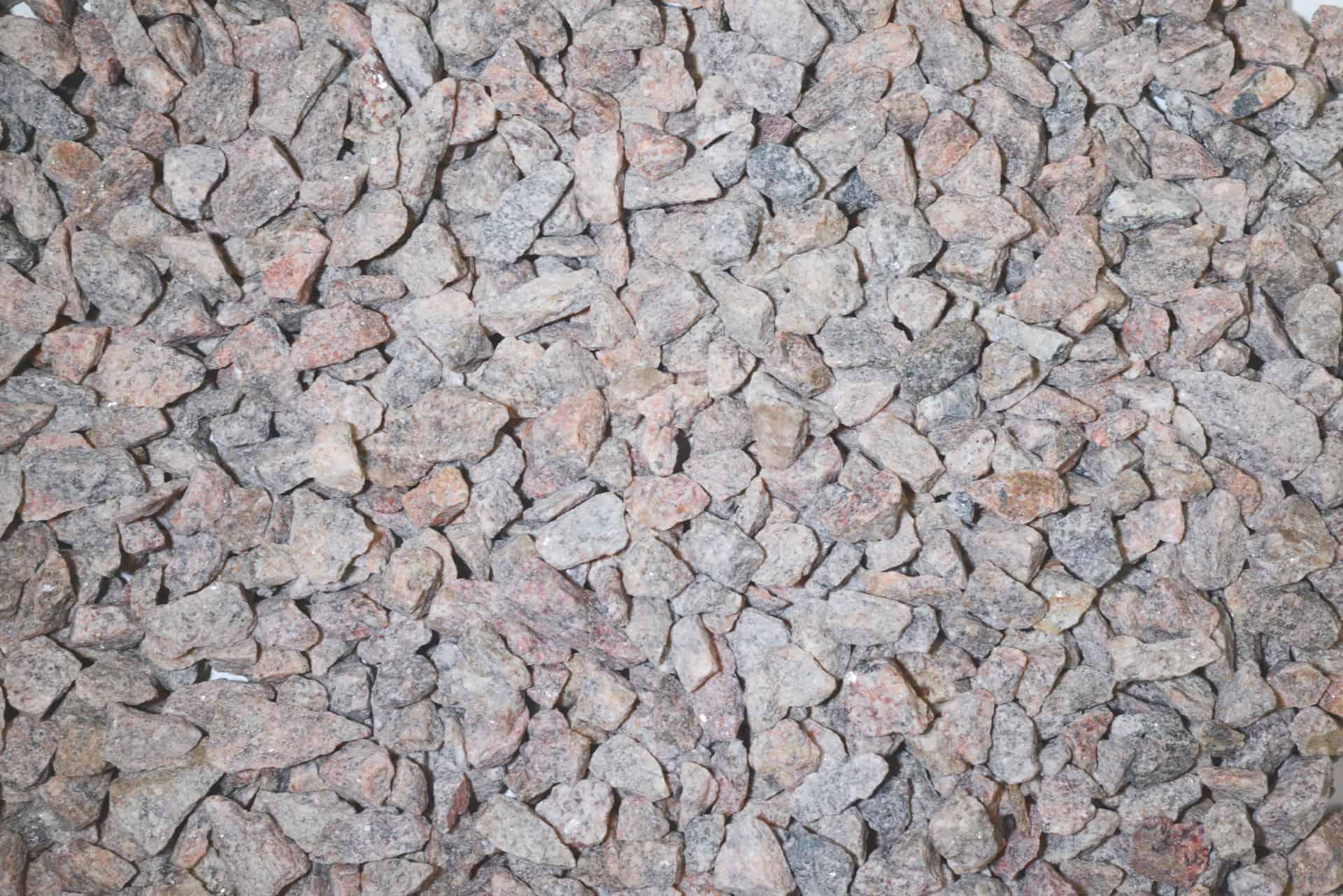 Granitsplitt rötlich 8-11mm - Sack vor Orth - Heidelberg