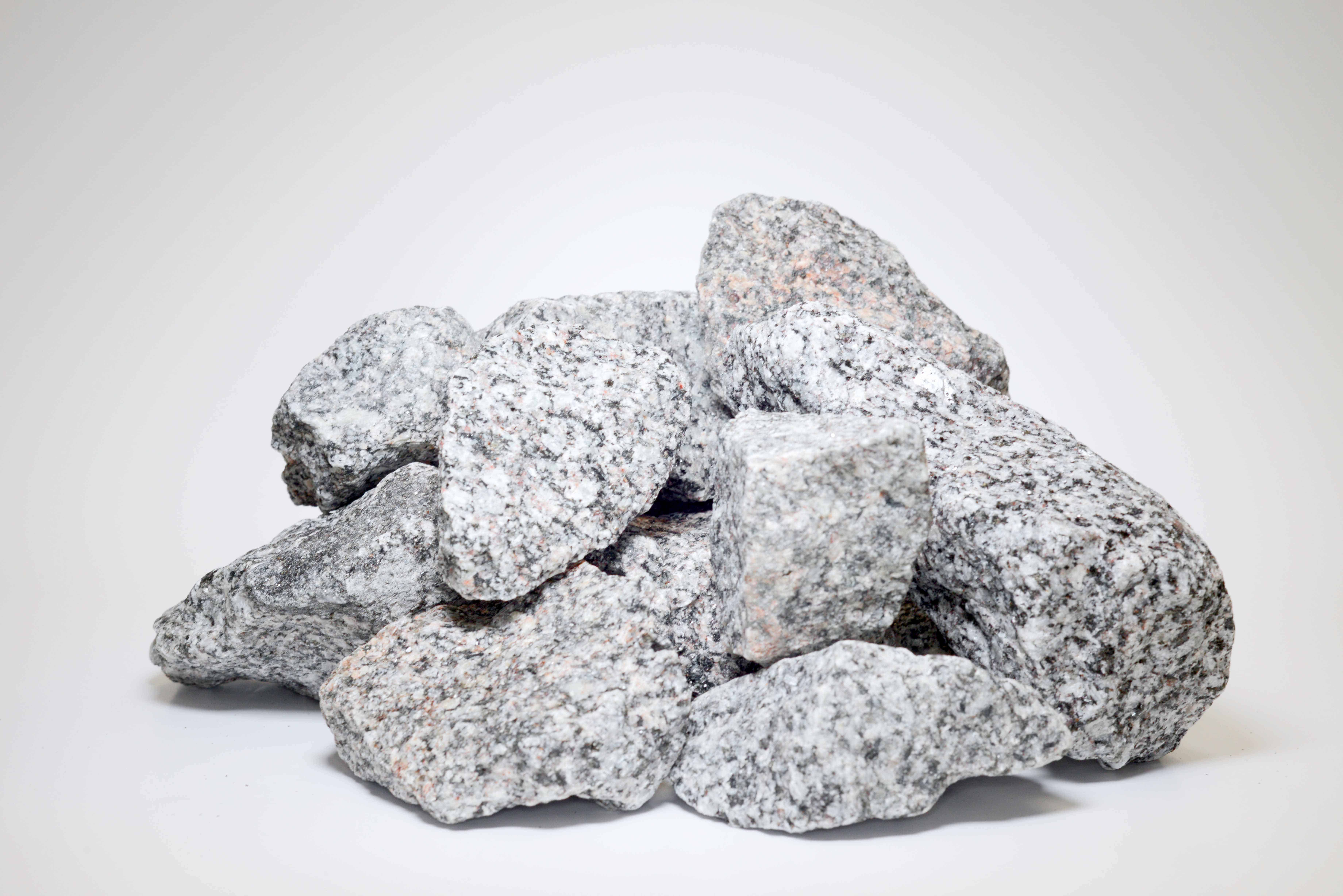 Gabionen Granit - Sack vor Orth - Heidelberg